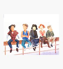 The Breakfast Club Photographic Print