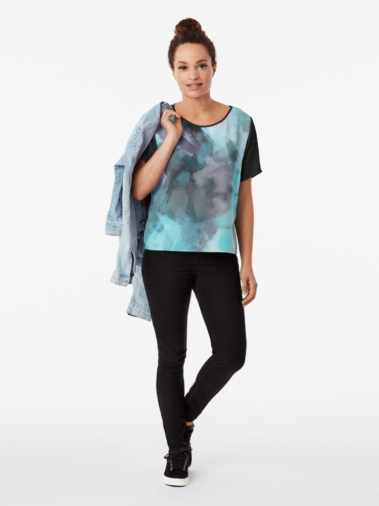 Alternate view of Misted Moments Chiffon Top