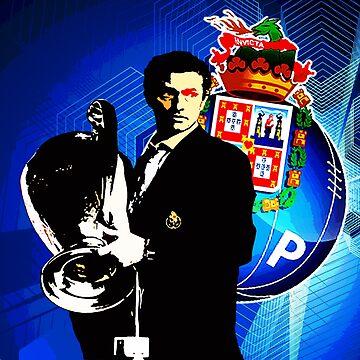 Mourinho - Porto by Aherom