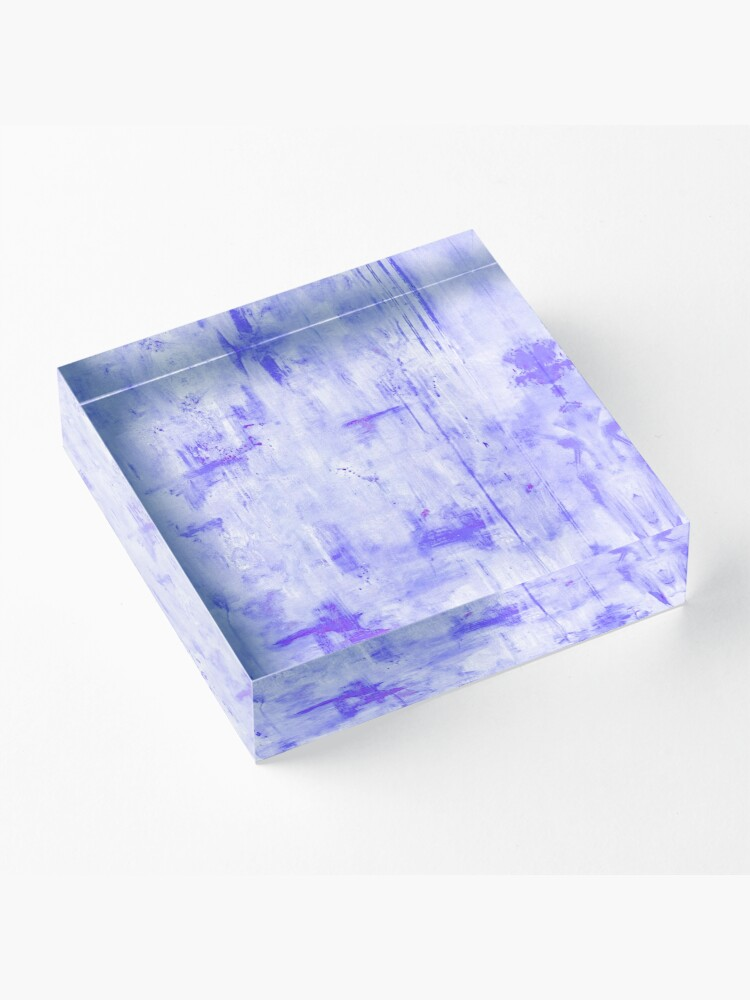 Alternate view of Lost in Lavender Acrylic Block