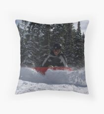 Snow plow! Throw Pillow
