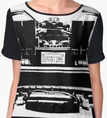 Delorean Time Machine Chiffon Top