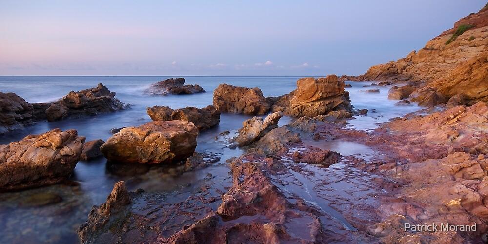 Autumn dawn on the beach by Patrick Morand