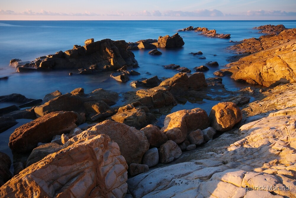 A vivid morning on the beach by Patrick Morand