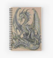 Awesome Dragon Drawing  Spiral Notebook