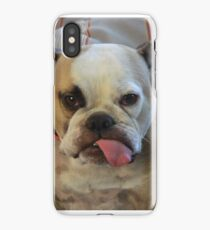 Tongue out Tuesday iPhone Case