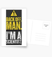 BACK OFF MAN. Postcards