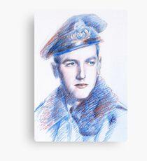 Franco Benetti portrait Canvas Print