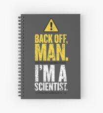 BACK OFF MAN. Spiral Notebook