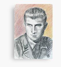 Franco Bolzoni portrait Canvas Print