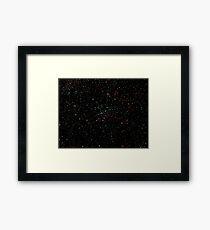 Rainbow Stars Framed Print