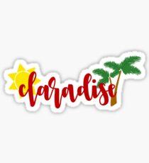 claradise Sticker
