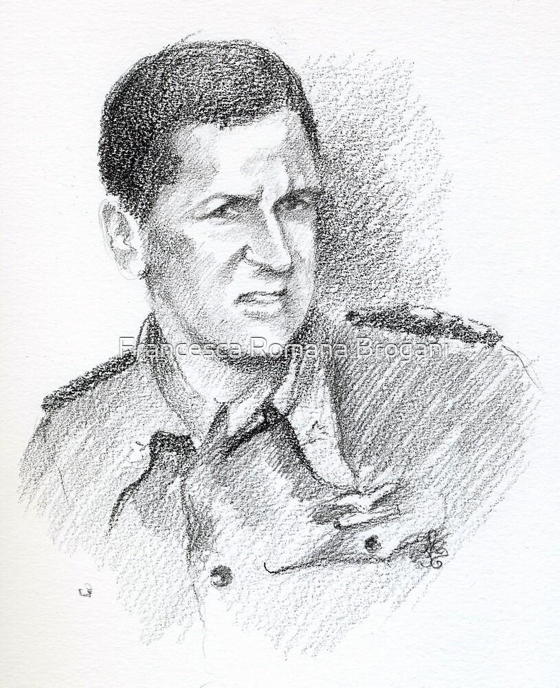 """Costantino Petrosellini """"Pedro"""" - portrait by Francesca Romana Brogani"""