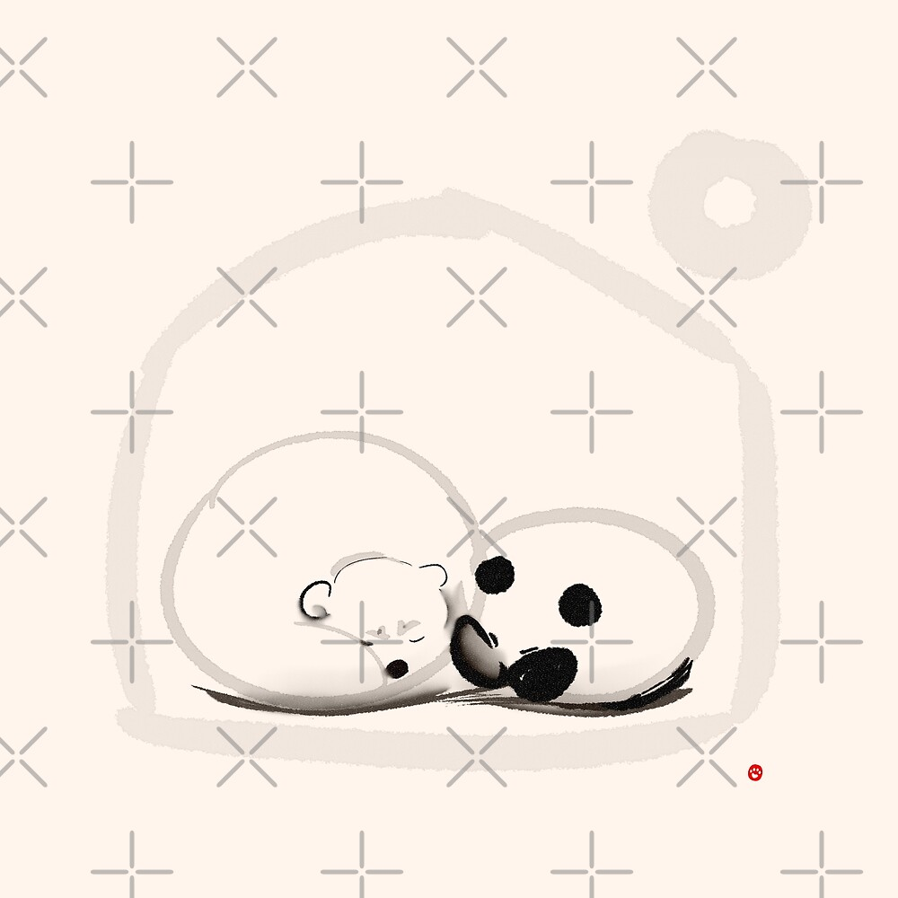 Moon And You by Panda And Polar Bear