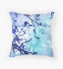 Morning Mist Throw Pillow