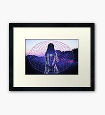 Toroidal Emanation Framed Print