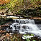 Unnamed Falls at Ricketts Glen SP by KPcaptures