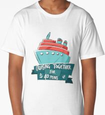 Cruising Together 40 Years Long T-Shirt