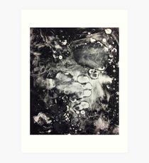 Monoprint Mess Art Print