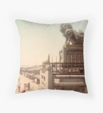 Gion Street, Kyoto, Japan Throw Pillow