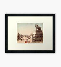 Gion Street, Kyoto, Japan Framed Print