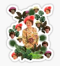 Hyacinth a Bloomin Sticker