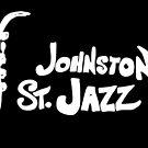logo for jazz venue by Naomi Downie
