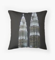 Petronas Towers Throw Pillow