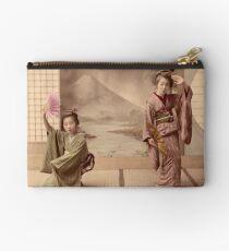 Two geisha girls dancing Studio Pouch