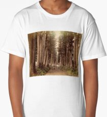 Imaichi Nikko Road, Japan Long T-Shirt