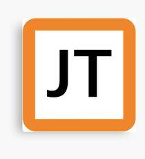 JT / 東海道線ロゴ-Tokaido Line logo- Canvas Print