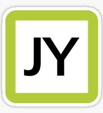 JY / 山手線ロゴ-Yamanote Line logo- Sticker