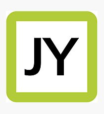 JY / 山手線ロゴ-Yamanote Line logo- Photographic Print