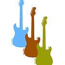 Three Electric Guitars by wmr2