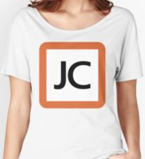 JC / 中央本線及び直通2路線 中央線快速・青梅線・五日市線-Chuo Line and direct dial 2 line Chūō Line, Ome Line, Itsukaichi Line- Women's Relaxed Fit T-Shirt