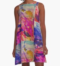 Outside The Lines A-Line Dress