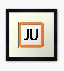JU / 宇都宮線(東北本線)・高崎線-Utsunomiya line (Tohoku), Takasaki Line- Framed Print