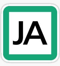 JA / 埼京線(赤羽線)-Saikyo Line (Akabane line)- Sticker