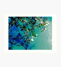 Spring Synthesis IIV Art Print
