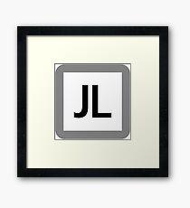 JL / 常磐線各駅停車-Joban Line local train- Framed Print
