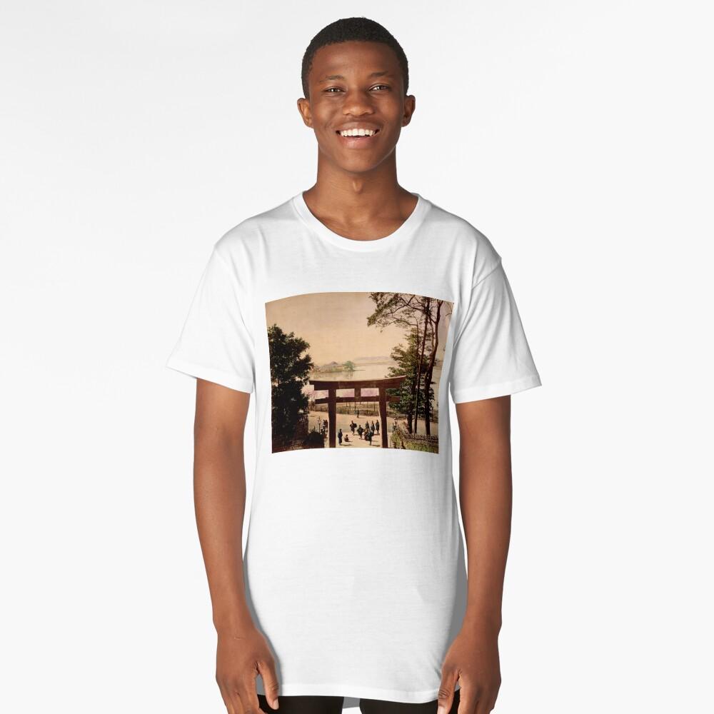 View of Uyeno, Tokyo Long T-Shirt Front