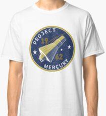 Space Project Mercury Classic T-Shirt