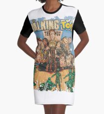 Walking Toys Graphic T-Shirt Dress