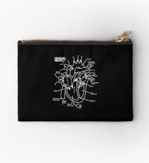 Herz-Diagramm anatomisch Täschchen