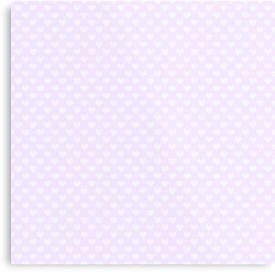 Lienzos Metalicos Corazones Grandes En Suave Color Lila Pastel De - Color-lila-pastel