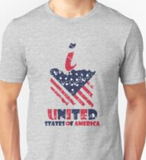 I-love-united-states-of-america Unisex T-Shirt