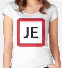 JE / 京葉線-Keiyo Line- Women's Fitted Scoop T-Shirt