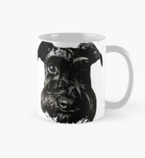 Black Schnauzer Gaze Mug