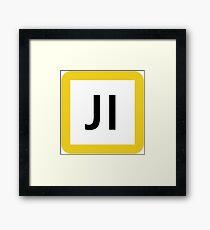 JI / 鶴見線-Tsurumi Line- Framed Print
