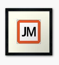 JM / 武蔵野線-Musashino Line- Framed Print